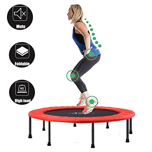 Fitness Mini Trampoline,Aerobic Trampoline Trainer with Adjustable Handle,Suitable for Indoor/Outdoor/Garden/Yoga Exercises,Maxim(Rebounder Trampoline) Fitness