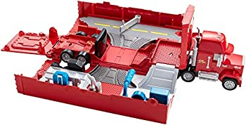 DisneyPixar Cars Mack Hauler Movie Playset Toy Truck and Transporter Racing Details for Story and Competition Play Ages 4 and Up