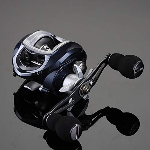 WHFDRHJZ Rueda de Pescado Carrete 6.3:1 Carrete Ultraligero 10+1 Rodamientos de Bolas Río/Lago Lure Carrete de Pesca