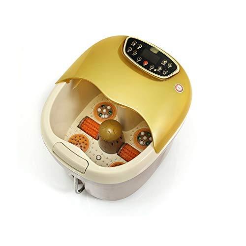 QWE Masaje de pies automática de Lavado de pies baño Profundo del Recipiente eléctrico Calefacción Burbuja de pies baño de pies DOISLL