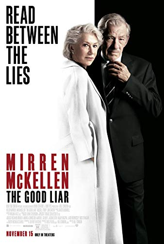 The Good Liar - Movie Poster Print Wall Decor - 18 by 28 inches. - (NOT A DVD)