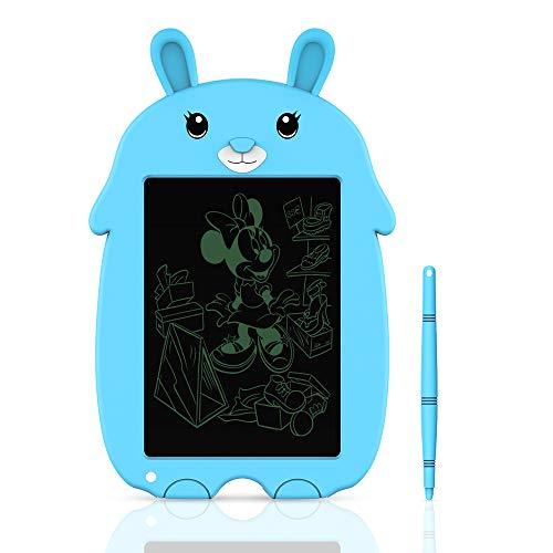 Tableta de Escritura LCD Tablero de Escritura y Dibujo Electrónico de 8,5 Pulgadas- Regalo para Niños (Blue)