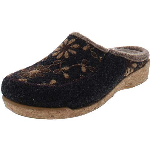 Taos Footwear Women's Woolderness 2 Charcoal Clog 8-8.5 M US
