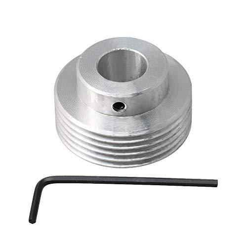 BQLZR 6 dientes diámetro exterior 40 mm agujero interior 14 mm PJ correa polea para eje motor mini mesa eléctricas