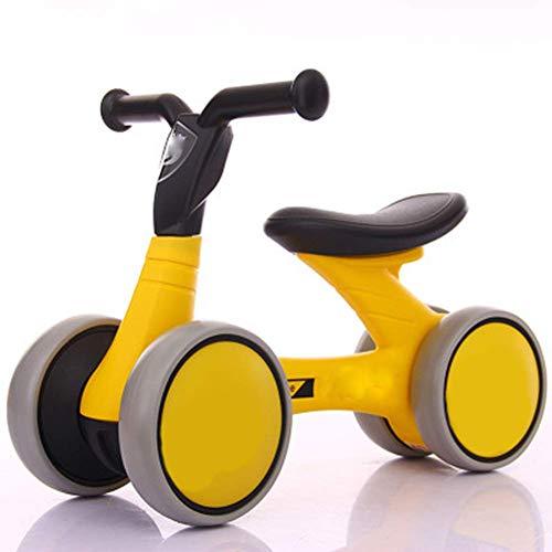 NMDD Faltbarer Tretroller, Kinderroller Balance Galle Auto Baby Walker 1-3 Jahre alt Kein Pedal Yo Auto Vierrädriges Laufband