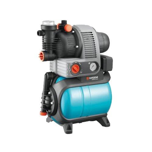 """Gardena Hauswasserwerk \""""Comfort - 4000/5 eco\"""", blau / schwarz / orange, 30 x 30 x 30 cm, 1754-20"""