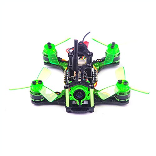 GEHOO GH Happymodel Quadcopter Mantis 85 Micro FPV Racing Drone BNF avec Récepteur Compatible Frsky D8 / Flysky 8ch / Specktrum DSM/2 ( Compatible Frsky D8 modee SBUS Receiver)