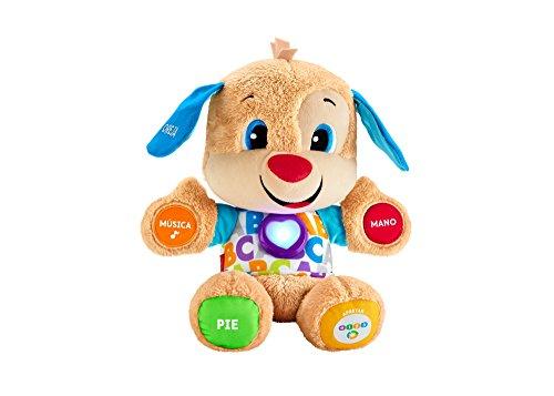 Fisher-Price Mattel Cagnolino Pronto descubrimientos, Giocattoli Bambino 6Mesi Versione castigliana - Multicolore