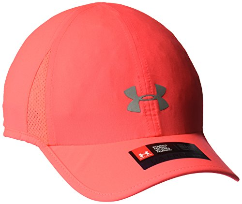 Under Armour Women's Shadow 2.0 Hat, Marathon Red (963)/Silver, One Size Fits All