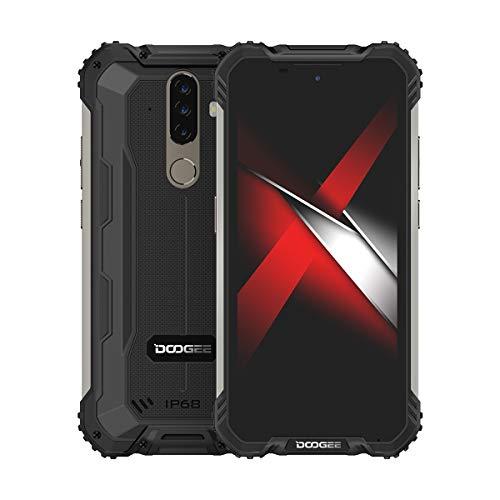 DOOGEE S58 Pro - Smartphone irrompible (6 GB RAM + 64 GB ROM,Android10, cámara frontal 16 MP (Samsung), 5180 mAh CPU Helio P22, teléfono móvil Nior