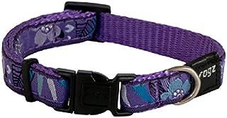 Rogz Fancy Dog Collar, Purple, X-Large