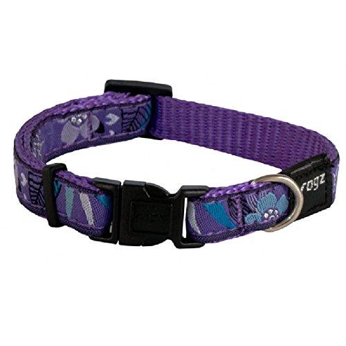 Rogz Armed Response Fancy Dress Hundehalsband, Large, Violett Forest