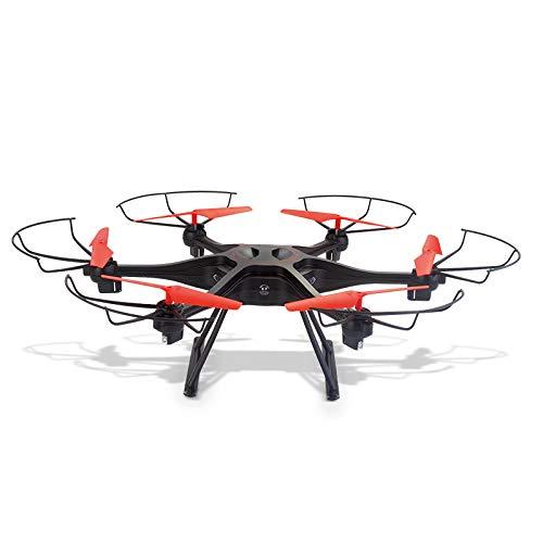 S-Eagle Control Remoto De Seis Ejes Drone Modo Sin Cabeza Juguete Wifi/720P Cámara Ultra Clara/LED Luces Coloridas/Negro/Blanco Creativa,Black