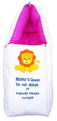 Nagar International Baby Sleeping Quilt for Baby (Pink Quilt)