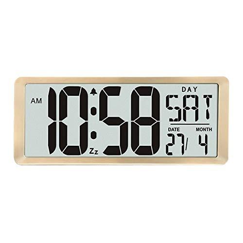 JIAXIN Reloj Pared Reloj Reloj De Pared Digital De Pantalla Enorme Swatch,...