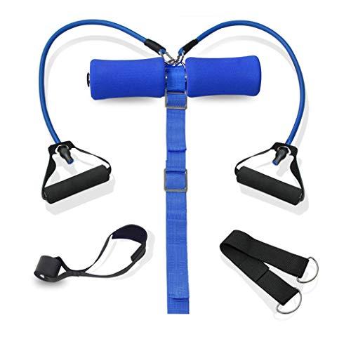 TONG Abdominales aparatos de Gimnasia Cama en casa Hombres y Mujeres Abdomen Ayuda Tirar de la Cuerda Aptitud física (Color : B)