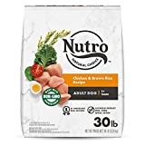 NUTRO NATURAL CHOICE Adult Dry Dog Food, Chicken & Brown Rice Recipe...