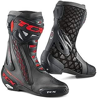 TCX RT-Race Men's Street Motorcycle Boots Black/Black/US 9 / Size 43