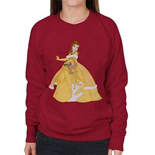 Disney Beauty en het Beest Belle Kerst Mand Vrouwen Sweatshirt