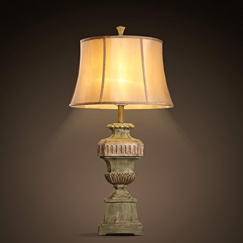 GaoHX Light Kontinentale Nähen American American American Retro-Hotel Modell Zimmer Dekoration Wohnzimmer-Schlafzimmer-Lampe Tischlampe B06XBCJ23D | Innovation  e0d53c