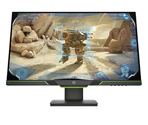 HP X27i 2K (27 Zoll / QHD IPS 144 Hz) Gaming Monitor (AMD FreeSync Premium, 4ms Reaktionszeit, entspiegelt, 2560x1440) schwarz