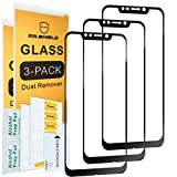 [3-Pack]-Mr.Shield for XiaomiPocophoneF1 [Japan Tempered Glass] [9H Hardness] [Full Screen Glue Cover] Screen Protector with Lifetime Replacement
