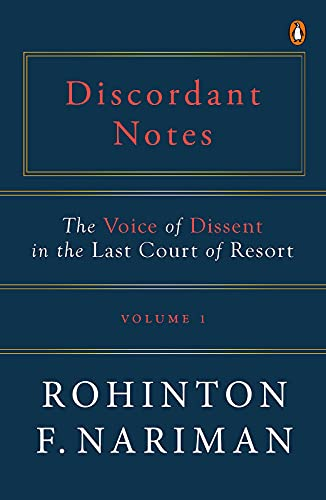 Discordant Notes, Volume 1: The Voice of Dissent in The Last Court of Resort (English Edition)
