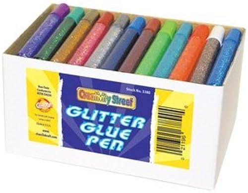 Glitter Glue Pens 72 Assd Classpack by MotivationUSA
