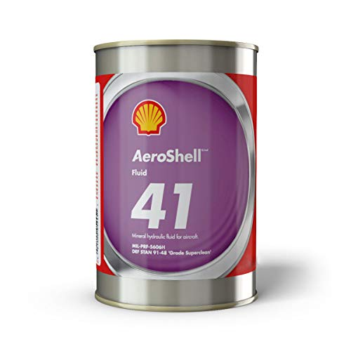 Aeroshell 41 for Aircraft - Mineral Hydraulic Fluid - 1 Gallon