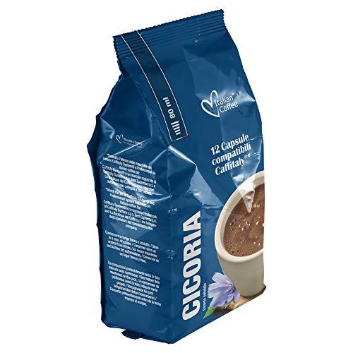 96 capsule Italian Coffee compatibili Sistemi Caffitaly System-Professional-Coffee For You*(12cps. * 8 sacchetti) (Cicoria)