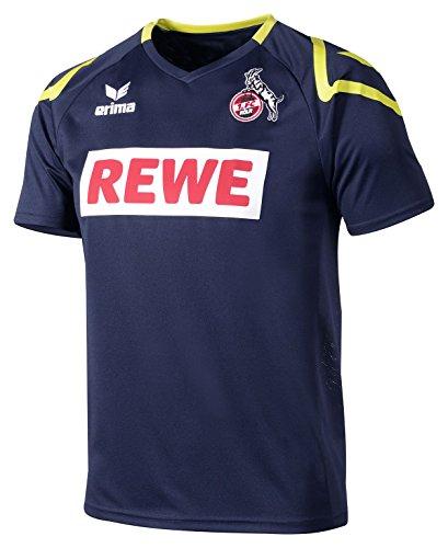Erima Herren FC Köln Away 2 Trikot inklusive Rewe Logo, New Navy, L