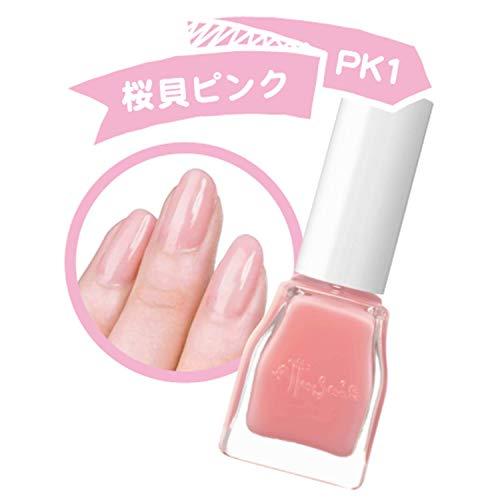 エテュセジェルカラーコートPK1(桜貝ピンク)ジェル風ネイルカラー9ml