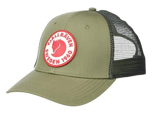 Fjällräven 78138 1960 Logo Långtradarkeps Hat Unisex-Adult Green L/XL