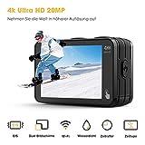 Zoom IMG-1 campark action cam 2 schermi