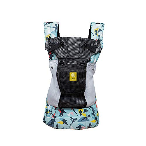 Disney Pixar Incredibles 2 Collection Complete Airflow 6-in-1 Ergonomic Baby & Child Carrier by LÍLLÉbaby, Incredibles 2