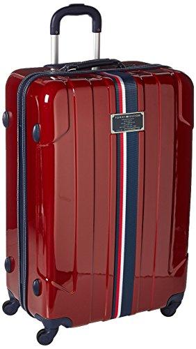 TOMMY HILFIGER Lochwood Hardside Spinner Luggage, Burgundy