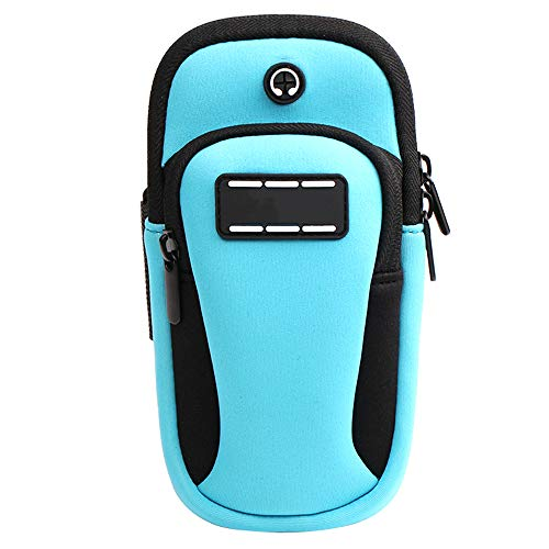 Banda para El Brazo Teléfono Móvil Brazalete Deportiva Impermeable Running Mobile Arm Bag Equipamiento Deportivo Fitness Wrist Pack Universal M