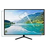 ZLSD 55 Pulgadas HD Protector De Pantalla De TV, Luz Azul Anti Película Antiarañazos, Alivie La Fatiga Ocular, Compatible con LCD, Led, 4k OLED, QLED,HD-55inch(1211x682mm)