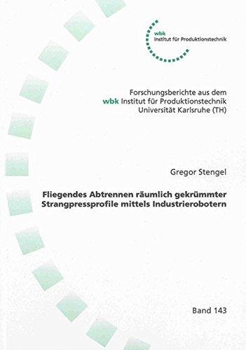 Fliegendes Abtrennen räumlich gekrümmter Strangpressprofile mittels Industrierobotern (Forschungsberichte aus dem wbk, Institut für Produktionstechnik Universität Karlsruhe)