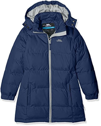 Trespass Fille Tiffy Veste Tiffy, Blau - Navy Tone, Gr. Size 7/8 (Herstellergröße: Size 7/8)