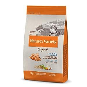 Nature's Variety Original - Pienso para gatos esterilizados con salmón sin espinas 7 Kg