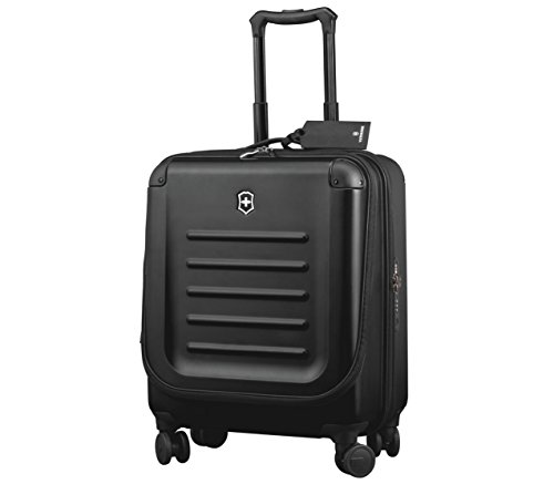 Victorinox Spectra 2.0 Hardside Dual-Access Carry-On Spinner Luggage, Black