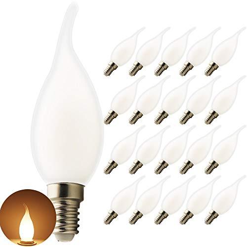 LED E14 C35L kaarslampen- NO dimmen,kroonluchter, ideale lichtbron voor wandlampen