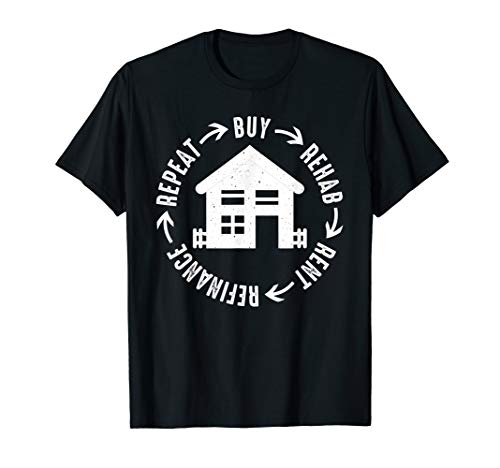 BRRRR Method Real Estate Investing T Shirt