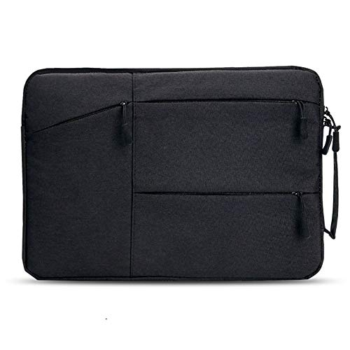 AUConer PVC protected 16inch Macbook Pro 15.6inch Laptop carrying bag for Surface Laptop,New Alienware, New Inspiron, HP Envy 15,Dell XPS 15,Acer Predator Helios 300 (15.6inch, CarryBagHandle-Black)
