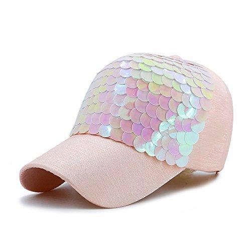 Berretto Da Baseball Tappo Per Scale A Colori Traspirante,Protezione Solare,All'aperto Cappellini-rosa regolabile