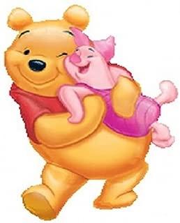 LoonBalloon WINNIE The POOH Bear & Piglet Pig Hugging Hug 37