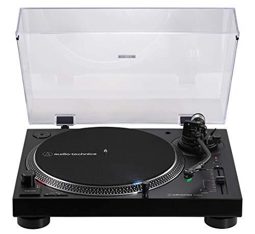 Audio-Technica AT-LP120xBTUSB Giradiscos de tracción directa, (Bluetooth Y USB), Negro