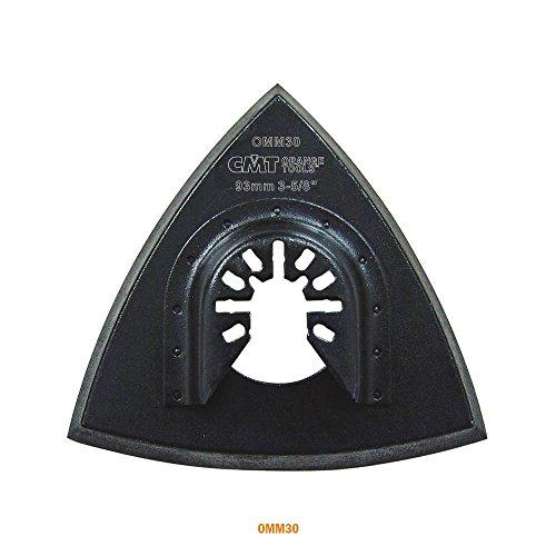 CMT omm30-x1Lochplatte 93mm für Schleifen, Sockel Universal, schwarz