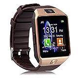 Biratty DZ09 Bluetooth Smart Watch for Men Women Boy Girl to Track Fitness